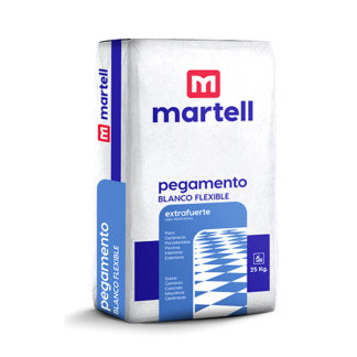 pegamento blanco flexible Martell
